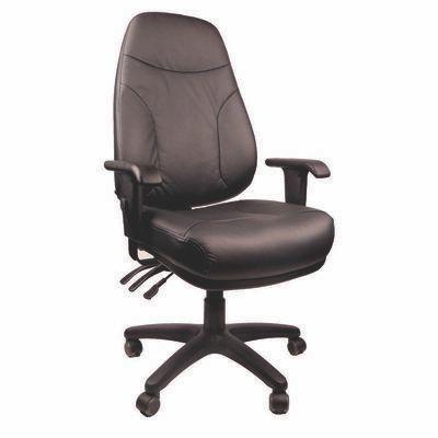 ENDEAVOUR101L Endeavour Leather Chair Mile End Office Furniture