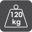120kg Weight Capacity