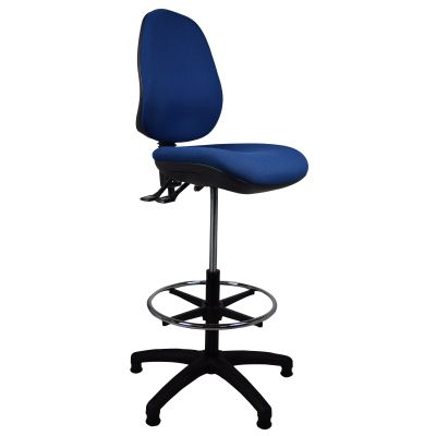 Tulip E Drafting Chair Navy