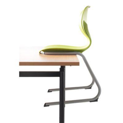 Mata Visitor Chair 360mm Black