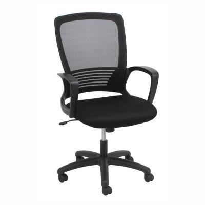 Slick Mid Mesh Back Task Chair Black