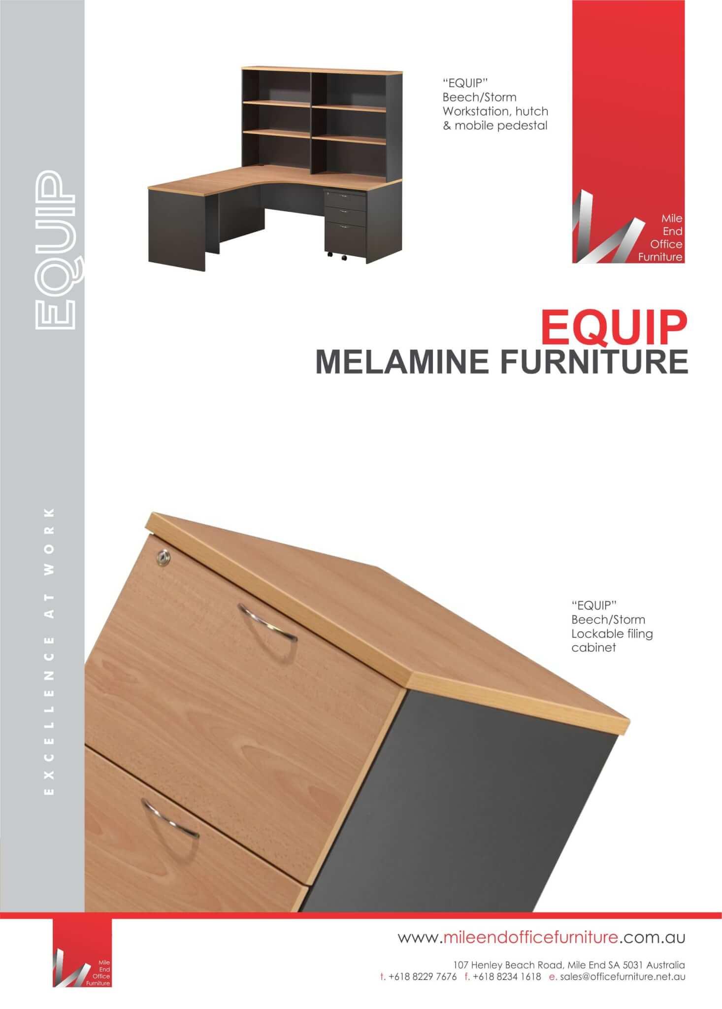Equip Melamine