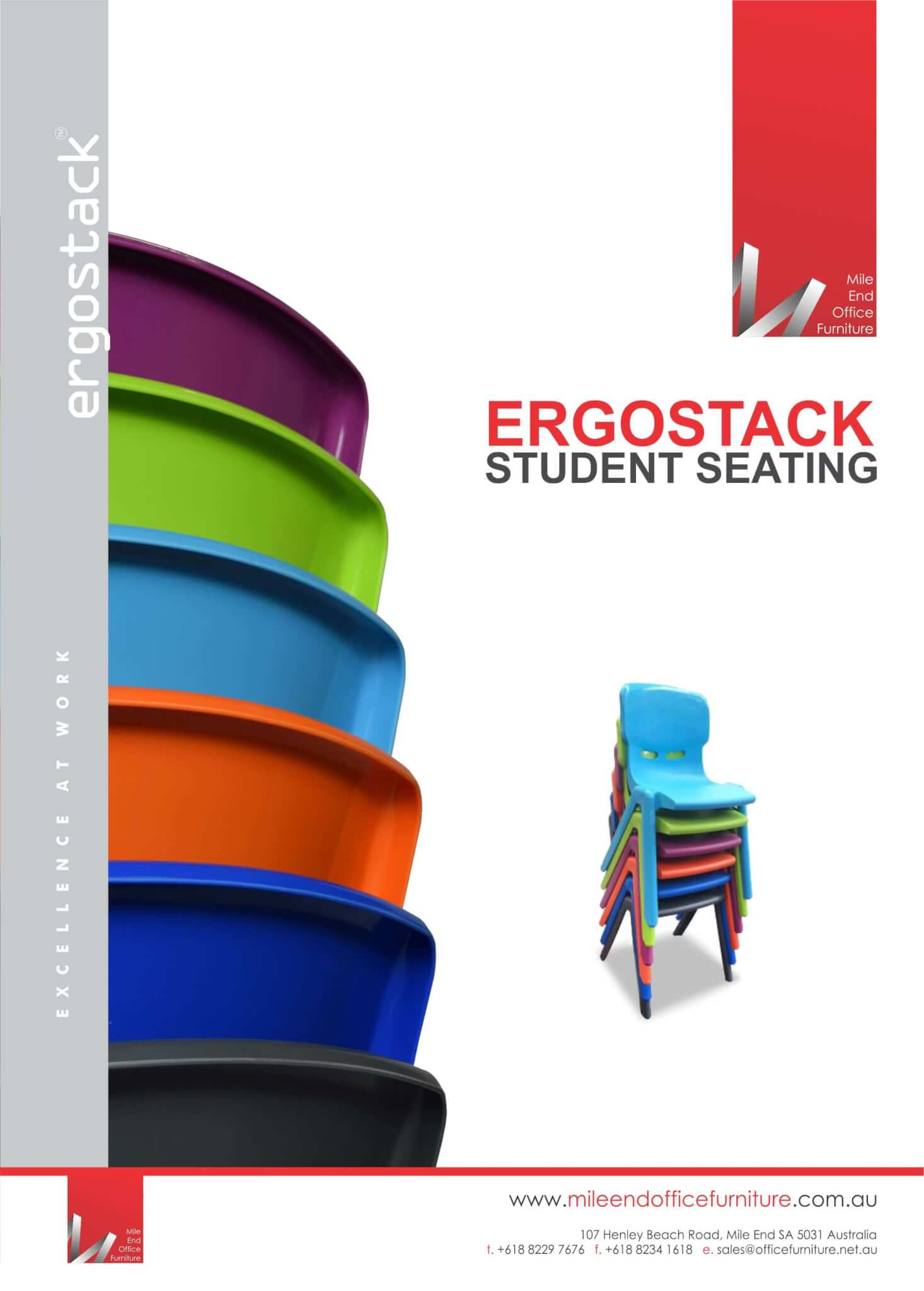 Ergostack Student Seating