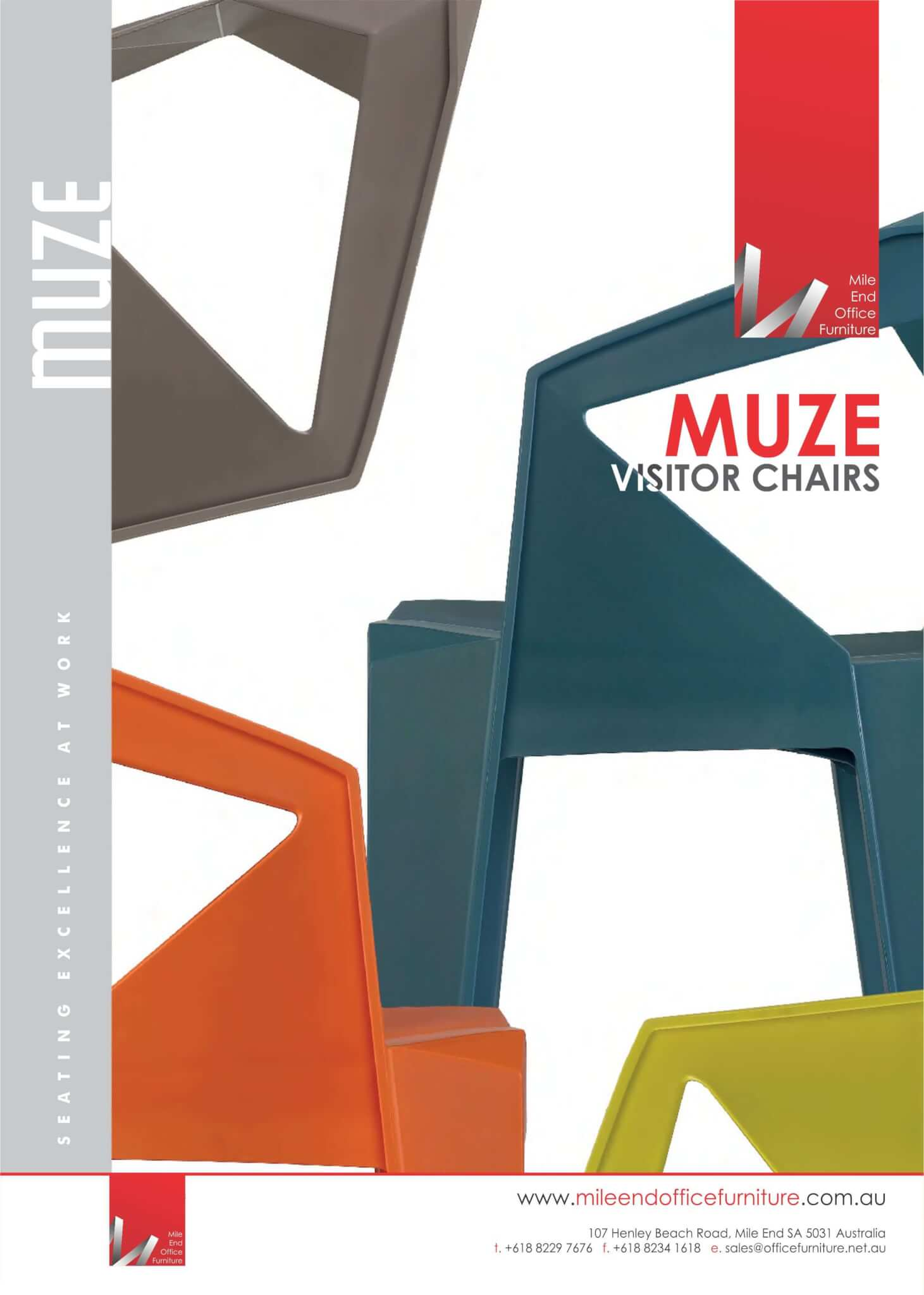 Muze Visitor Chairs