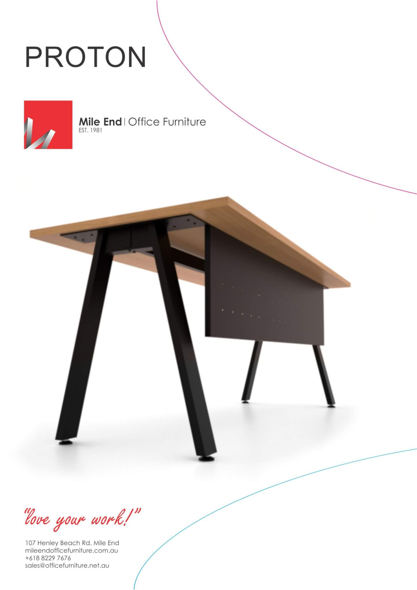 Proton Desking & Tables
